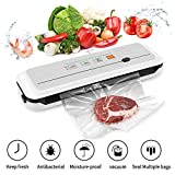 Vacuum Sealer Food Sealer Machine Vacuum Air Sealing System For Food with Bags Built-in Roll Bag...