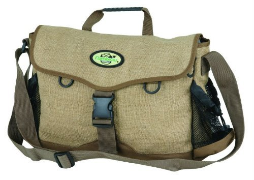 Flambeau Tackle Creel Flax Bags (Brown, 15x11.375x3-Inch)