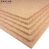 TRECOR Pinnwand Korkplatte Format: 1000 x 500 mm -...