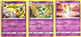 Pokemon Evolution Set - Gallade 82/236 - Sun Moon Cosmic Eclipse - Holo Rare - 3 Card Lot