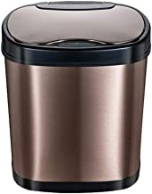 TMWljito garbage can Automatic Induction Type 12L Trash Can,intelligent High Quality Stainless Steel Trash Can For Househo...