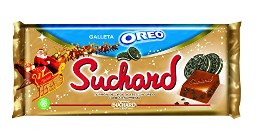 Suchard - Turrón de Chocolate Oreo, 260 g