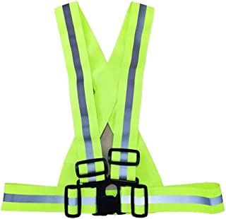 Other Bike Safe Reflective Safety Vest for Construction Traffic Warehouse Visibility Security Jacket Reflective Strips Wea...
