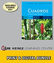 Bundle: Cuadros Student Text, Volume 1 of 4: Introductory Spanish + iLrn™ Heinle Learning Center, 1 term (6 months) Access Code