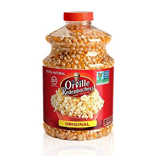 Orville Redenbacher's Gluten Free Original Gourmet Yellow Popcorn Kernels, 45 Ounce, Pack of 6