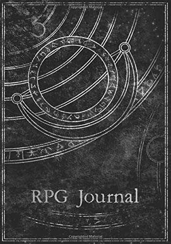 RPG Journal: Tabletop Game Notebook for role playing gamers to create characters, track inventory, keep marketplace notes, log NPCs, and map terrain, buildings and dungeon layouts