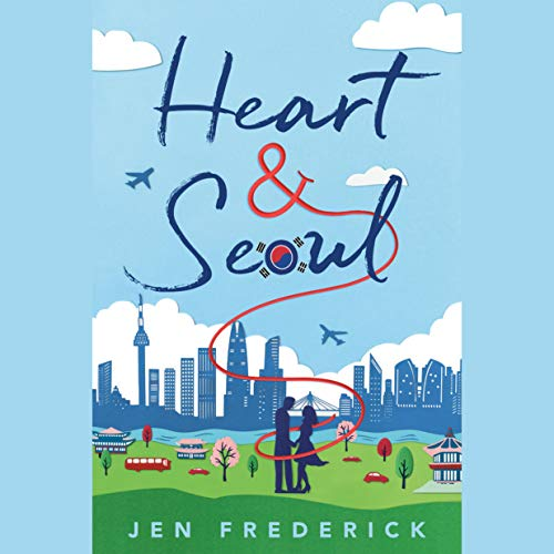 Heart and Seoul audiobook cover art