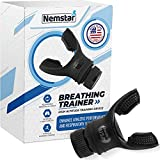 Nemstar Breathing Exercise Device Lung Exerciser Device for Expiratory Inspiratory Muscle Trainer for Lung Capacity Respiratory Therapy Lung Breathing Exerciser for Training Inhale Health o2 Trainer
