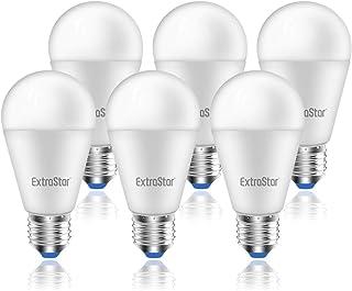 Bombilla LED E27, 15W (equivalente a 120W), 1200lm,3000K luz calida - 6 unidades [Clase de eficiencia energética A+]