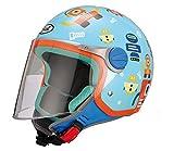 BHR 94111 Motorrad Helm Kid 713, Motiv Roboter, 51/52