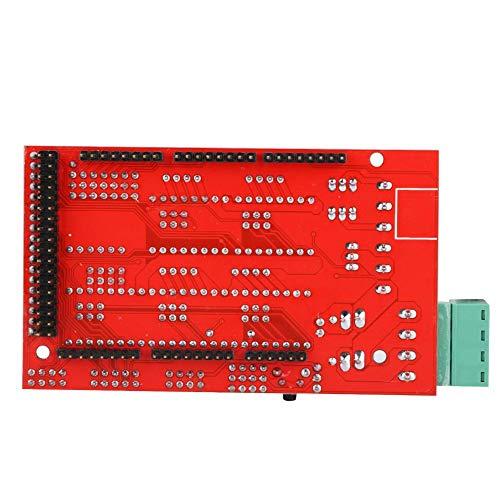 ASHATA RAMPS 1.4 3D-printerbesturing, lagere kosten en lagere afmetingen, veel ruimte voor uitbreidingen, ondersteuning voor Mega 2560 MEGA2560 R3 + 5 * A4988 3D-printeraccessoires