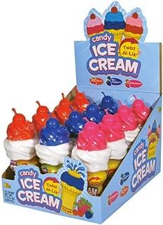 Ice Cream Candy Twist-N-Lik - 12 Count