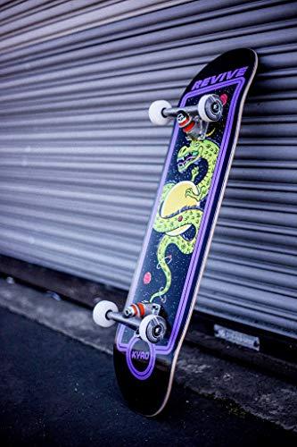 Braille Skateboarding Aaron Kyro Dragon Pro Revive Complete Sold...