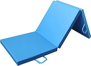 comprar comparacion PRISP Colchoneta de Espuma 180 cm, Triple Plegable, para Gimnasia, Fitness, Yoga, aeróbics y Ejercicio para casa e Interio...