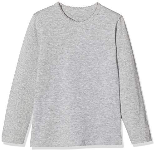 MINYMO M dchen Minymo 2er Pack Blusen mit Langen Ärmeln fürMädchen Bluse, Mehrfarbig (Dunkel Grau/Schwarz 193), 152 EU
