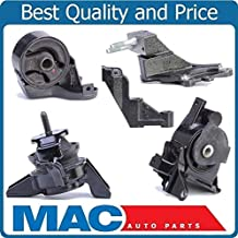 Mac Auto Parts 157840 5 100% New Engine Mounts for Kia Spectra 2.0L 5 Speed Manual Transmission 04-09