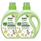 WBM LLC 8615-2PK 3X Concentrated Liquid, Plant Based, 35.2 Oz, Active Baby Laundry Detergent