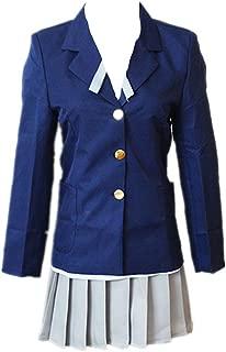 Anime K On Cosplay Costumes Mio Akiyama Uniforms Halloween Carnival Party