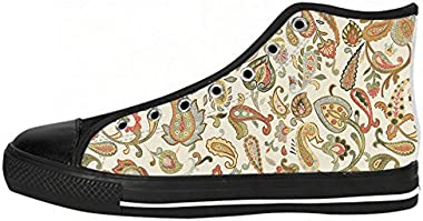 Daniel Turnai Fan Customized Tree of Life Top Canvas Shoes for Women
