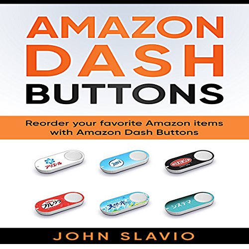 Amazon Dash Buttons audiobook cover art