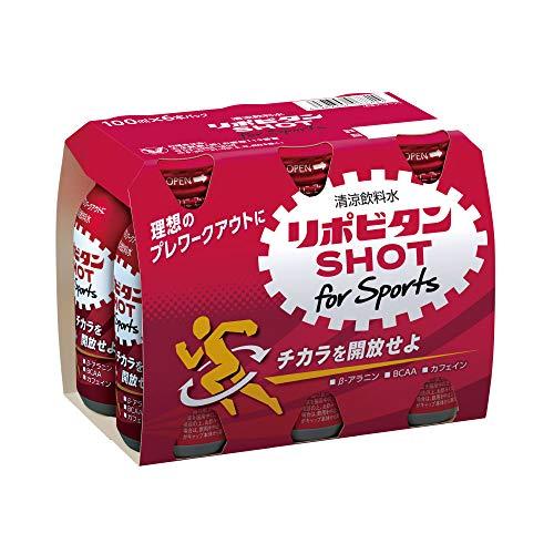 リポビタンショット for Sports 6本
