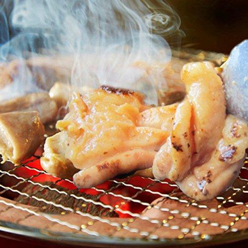 牛タレ漬けアカセン(ギアラ) 200g 焼肉用 《*冷凍便》