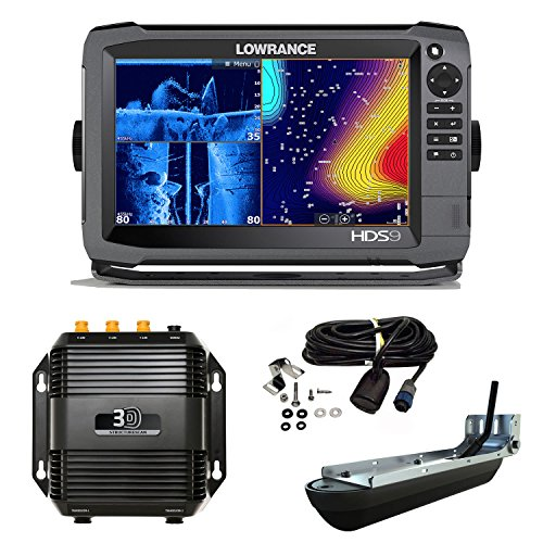 Lowrance HDS-9 Gen3 Chartplotter/Traceur ROW Mid/Hig 3D StructureScan