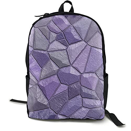 Piedras de la pared textura de fondo mochila libro cuaderno bolsa multifuncional ocio universitario estudiante viajes negocios hombres mujeres jóvenes