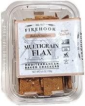 Firehook, Multigrain Flax Mediterranean Crackers (4 pack)