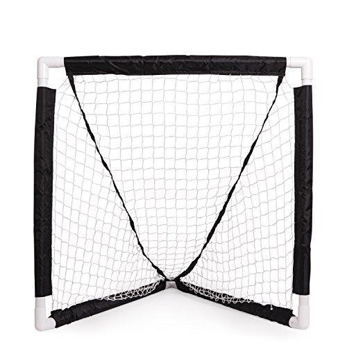 Champion Sports Mini Lacrosse Goal: Kids Gear Backyard Shooting Practice...