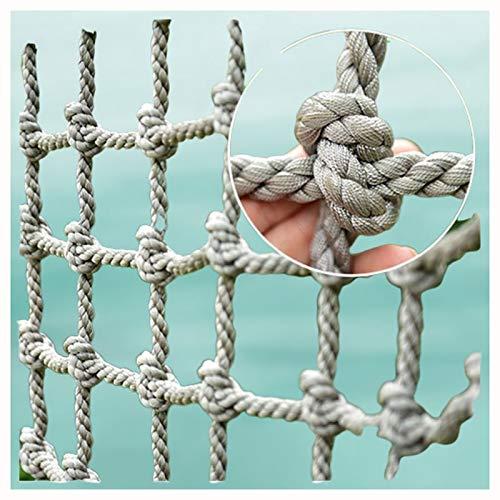 Klettern im Ladungsnetz,Kind Erwachsener LKW-Anhänger Schwerlast Sicherheitstreppengeländer Balkon Schutzzaun Dekorativ für Gitter im Freien Schwere Deck Container Strickleiter Stark und Abriebfest