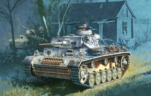 Dragon - D6558 - Maquette - Panzer III AUSf M - Echelle 1:35