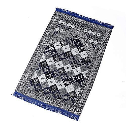 ZXF CROSS - Alfombra de oración Musulmana, tapete de oración de Viaje musulmán, Alfombra de oración islámica, Manta de oración Musulmana portátil