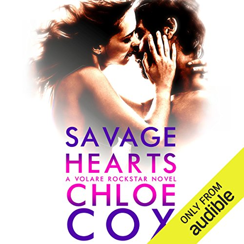 Savage Hearts audiobook cover art
