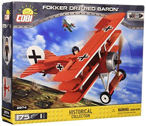 COBI COB02974 Fokker DR. 1 RED Baron, Verschieden