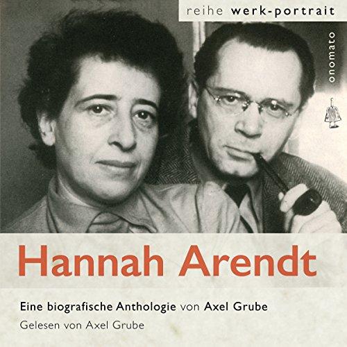 Hannah Arendt. Ein fragmentarisches Werkportrait Titelbild