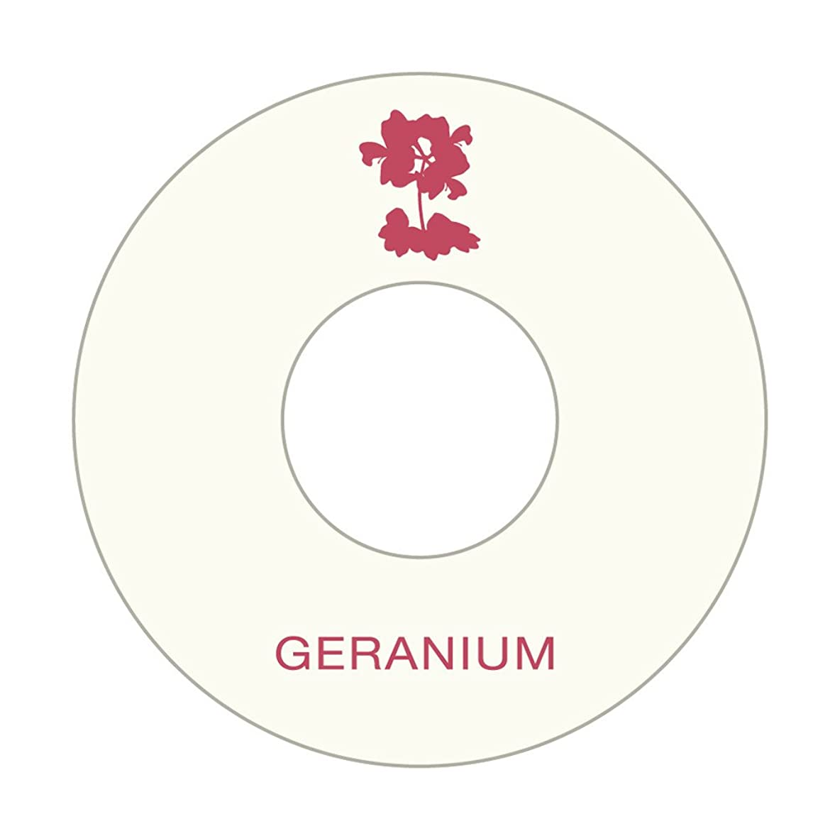 醸造所参照する気難しいアロマシートセット (ゼラニウム10枚)