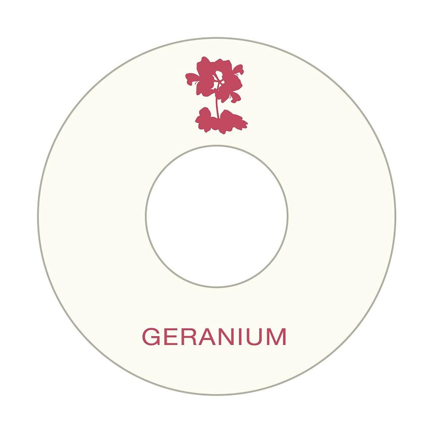 章ホーム副産物アロマシートセット (ゼラニウム10枚)
