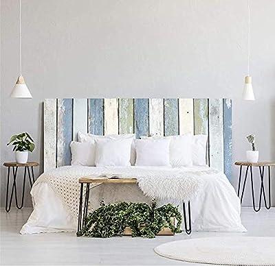 ✅ Cabecero para cama de PVCcon impresión de efecto madera para la decoración del hogar. Hemos elegido texturas de madera y agradables pensado en la combinación decorativa de habitaciones y estudios ✅ Disponible en varios tamaños para que elijas la q...