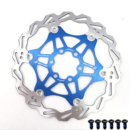 Disco freno mtb 160mm per Bicicletta Mountain Bike Disco Freno flottante Blocco Centrale Accessori per Biciclette 6 bulloni