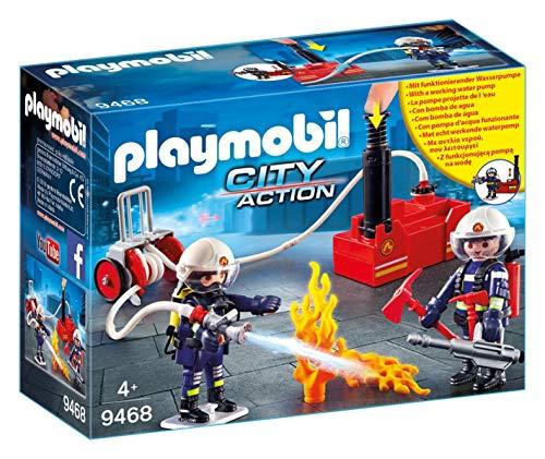 Playmobil City Action - Bomberos con bomba de agua (9468)