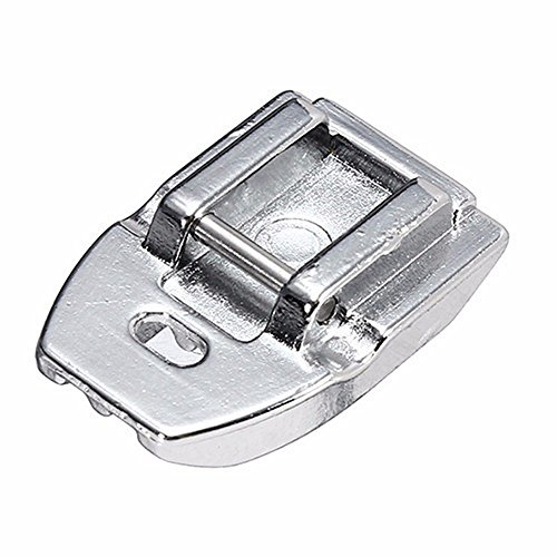 YaDu Concealed Invisible Zipper Foot -Fits All Low Shank Snap-On Singer, Brother, Babylock, Euro-Pro, Janome, Kenmore, White, Juki, New Home, Simplicity, Elna and More!