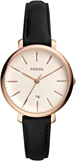 Fossil Women's White Dial Mixed Band Watch - ES4370