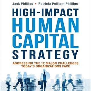 High-Impact Human Capital Strategy audiobook cover art