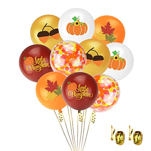 Autumn-Themed Balloons