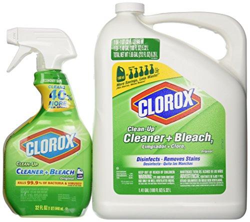 Clorox Cleaner Spray/Bleach and Refill Combo, 212 Fluid Ounce