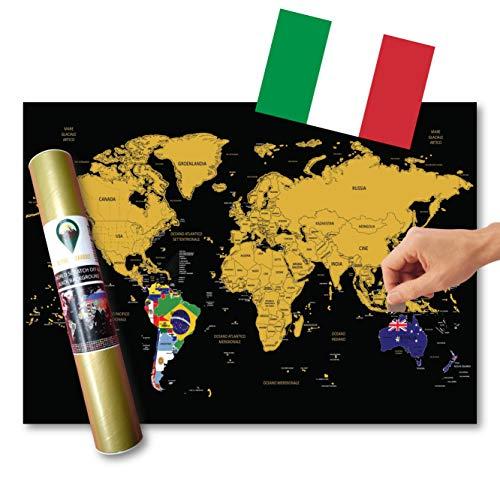 Cartina Mondo Con Bandiere.47 Migliore Mappa Poster Mondo Nel 2020 Secondo Gli Esperti