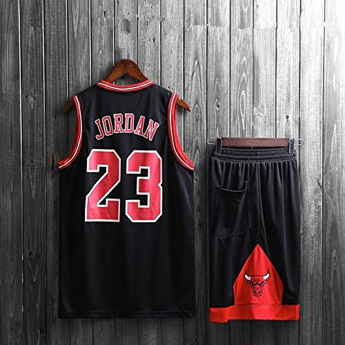 Mens NBA Michael Jordan #23 Chicago Bulls Basketball Jersey Suit ,Retro Gym Sports Vest...