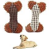 MICHETT Hundespielzeug Quietschspielzeug für Hunde Plüsch-Hunde Pielzeug Interaktives Spielzeug...