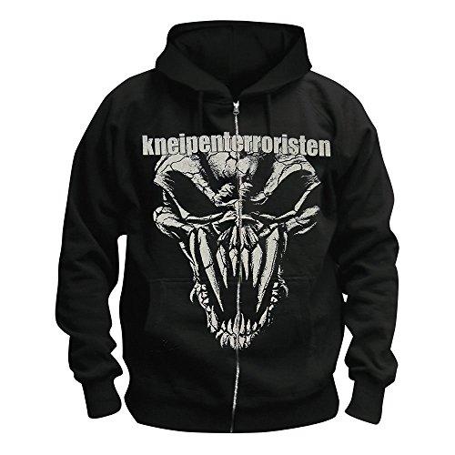 Kneipenterroristen - Geliebt Von Wenigen Kapuzen-Jacke, schwarz, Grösse L
